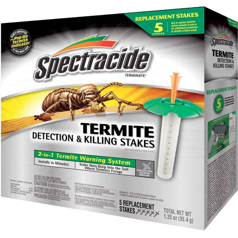 Spectracide Terminate 5-ct Termite Replacement Stakes