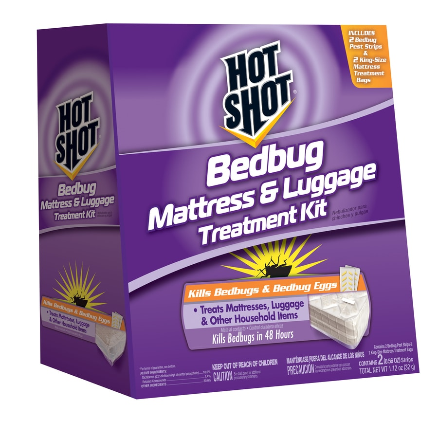 shop hot shot mattress and luggage bed bug killer at lowes