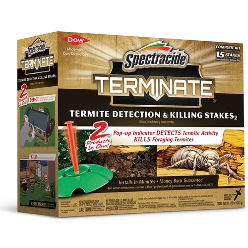 Spectracide Terminate Termite 15 Count Termite Killer 15 Pack In The Pesticides Department At Lowes Com