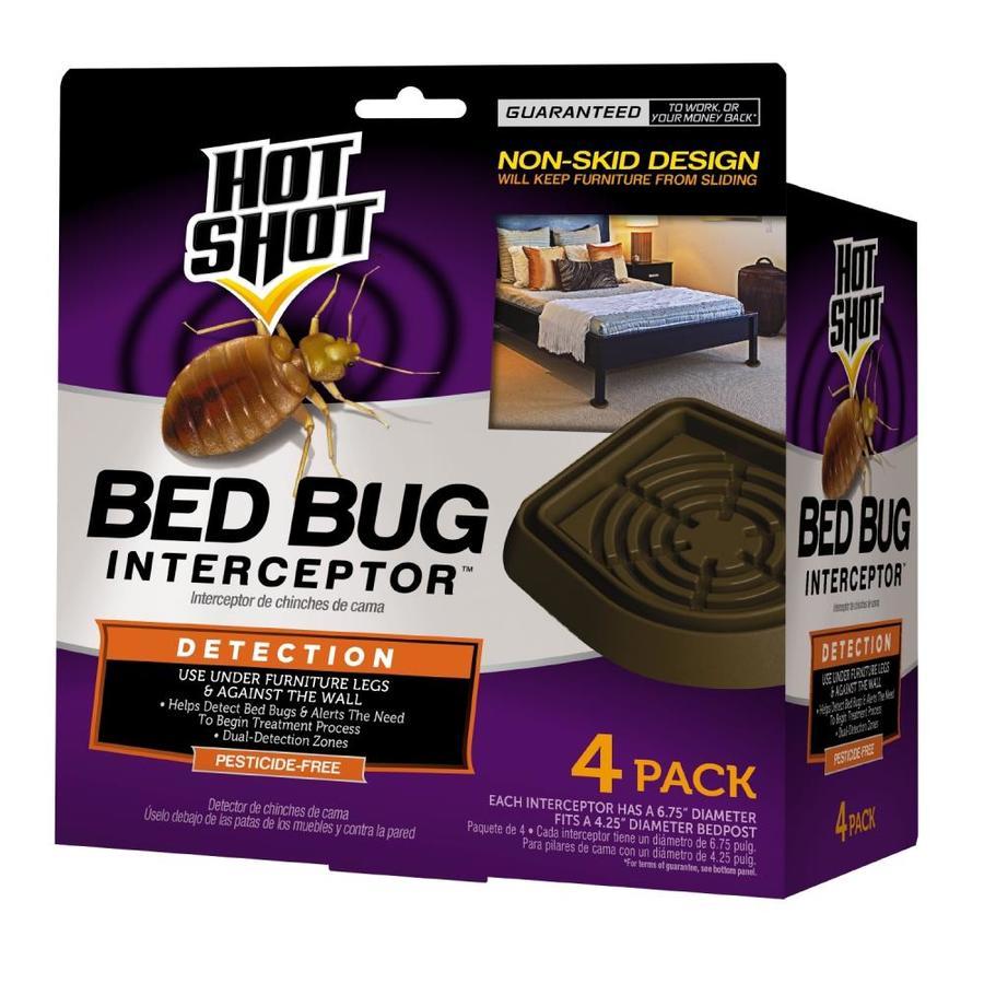 Hot Shot 4 Count Bed Bug Interceptor At Lowes Com