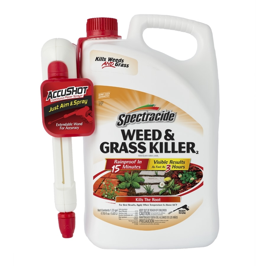 Spectracide Accushot Sprayer 1.3-Gallon Weed And Grass Killer