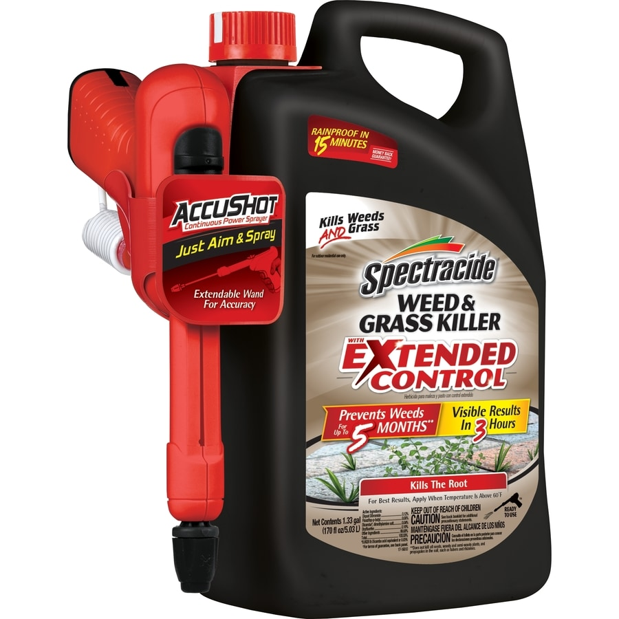 Spectracide 170-fl oz Weed & Grass Killer with Extended Control Accushot Sprayer
