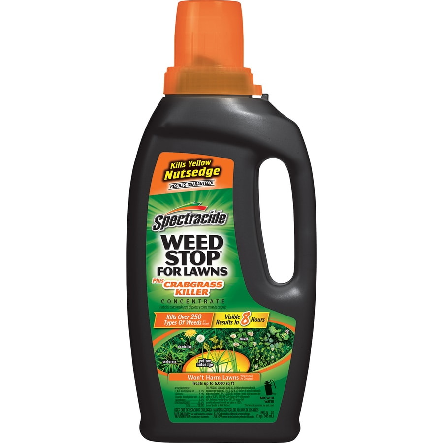 Spectracide Weed Stop for Lawns 32-oz Weed Killer Plus Crabgrass Control