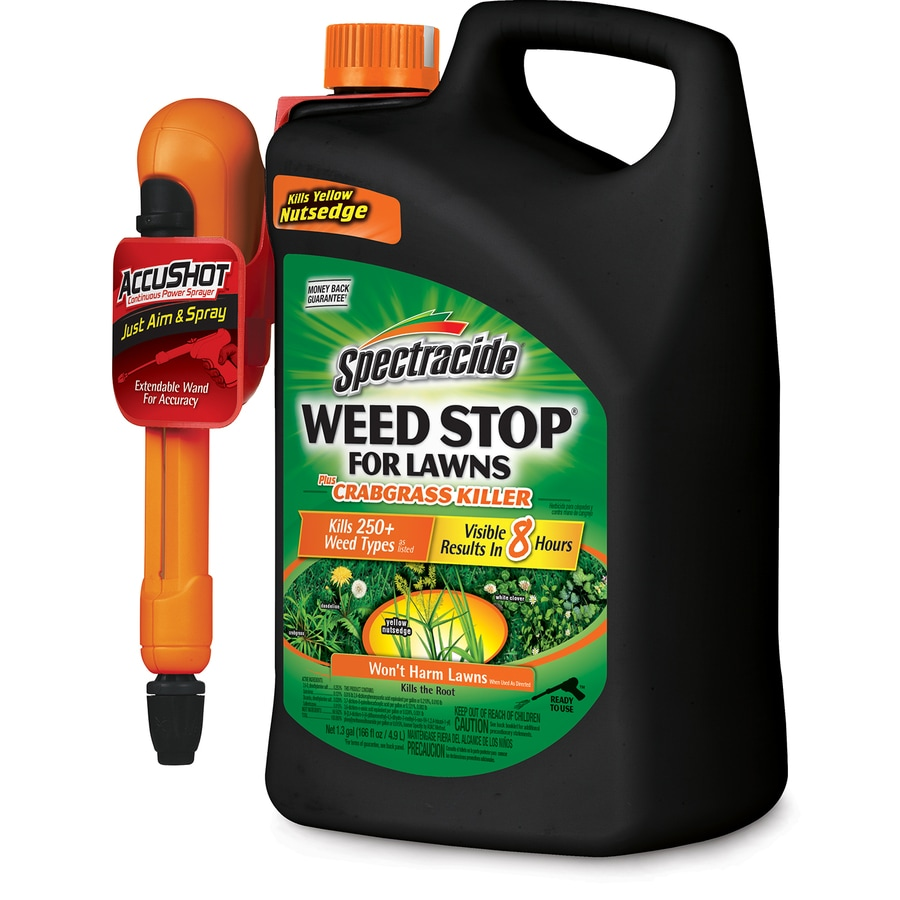 Shop Spectracide Weed Stop For Lawns 1 3 Gallon Weed