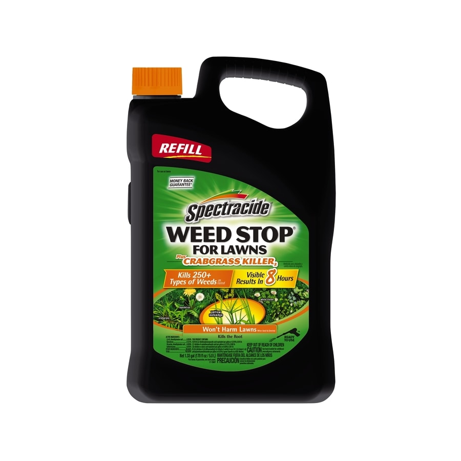 Spectracide Weed Stop For Lawns 1.3-Gallon Weed Killer Plus Crabgrass Control