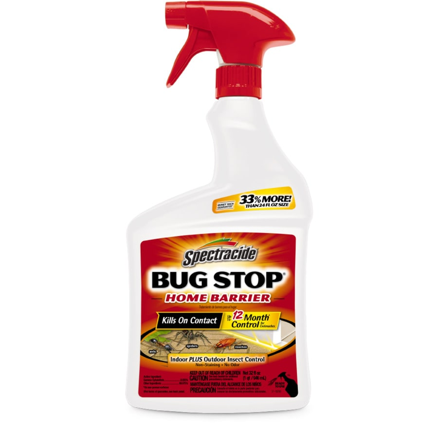 Shop spectracide bug stop home barrier 32 oz home pest for How to stop spiders entering your house