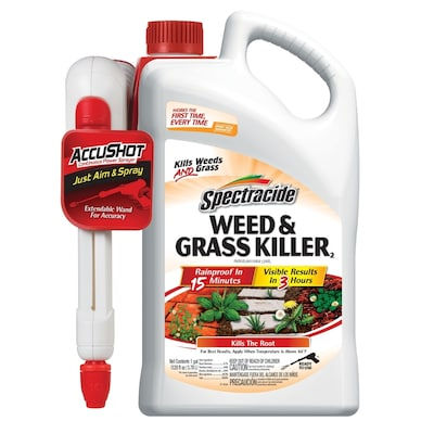 Spectracide AccuShot Sprayer 1-Gallon Weed and Grass Killer