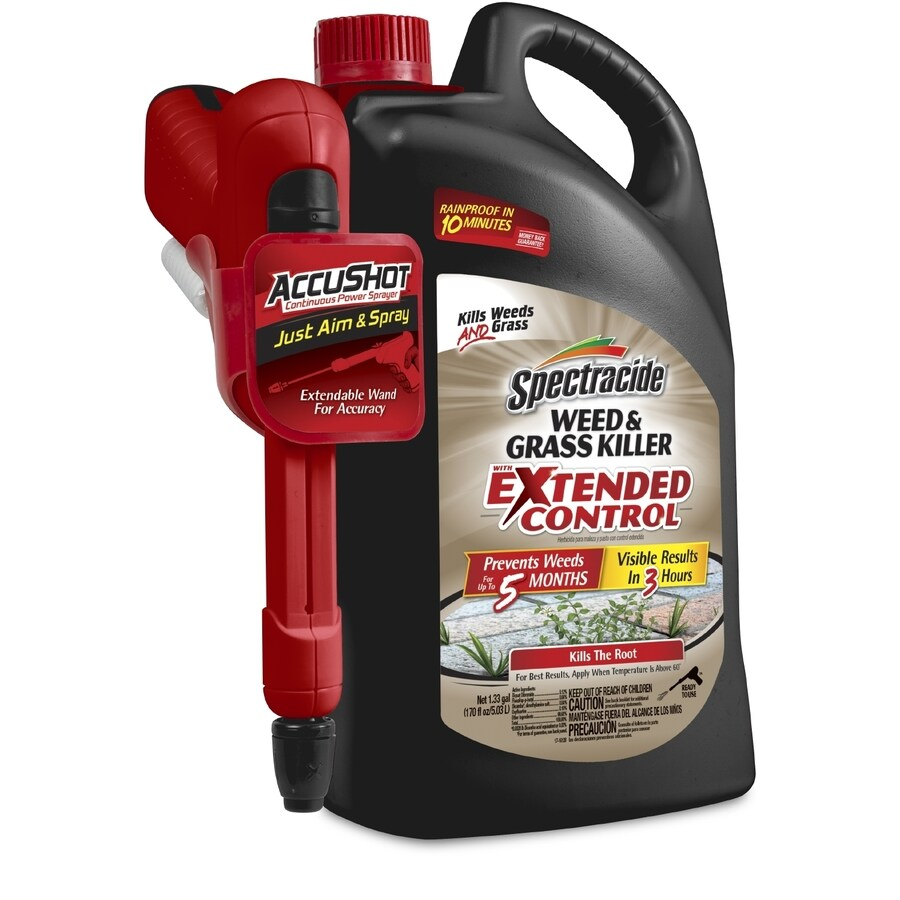 Spectracide Extended Control Accushot Sprayer 1-Gallon Weed and Grass Killer