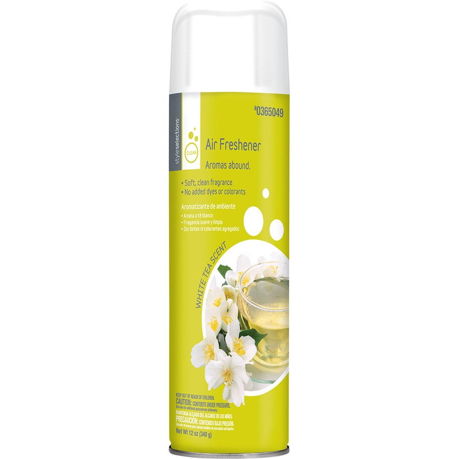 Style Selections 12-oz White Tea Air Freshener Spray