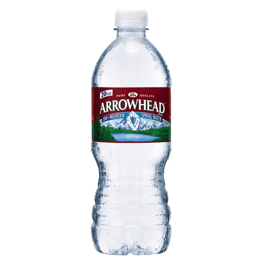 Arrowhead 20-fl oz Spring Bottled Water