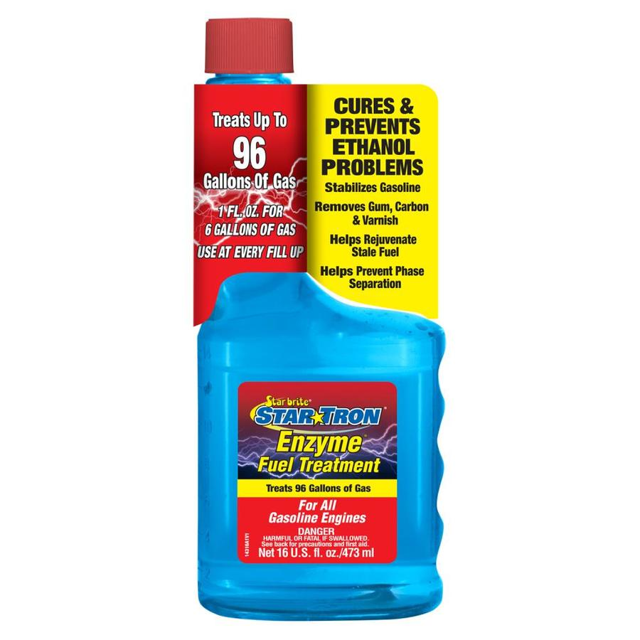 STAR TRON 16-oz 2-Cycle or 4-Cycle Engines Fuel Additive