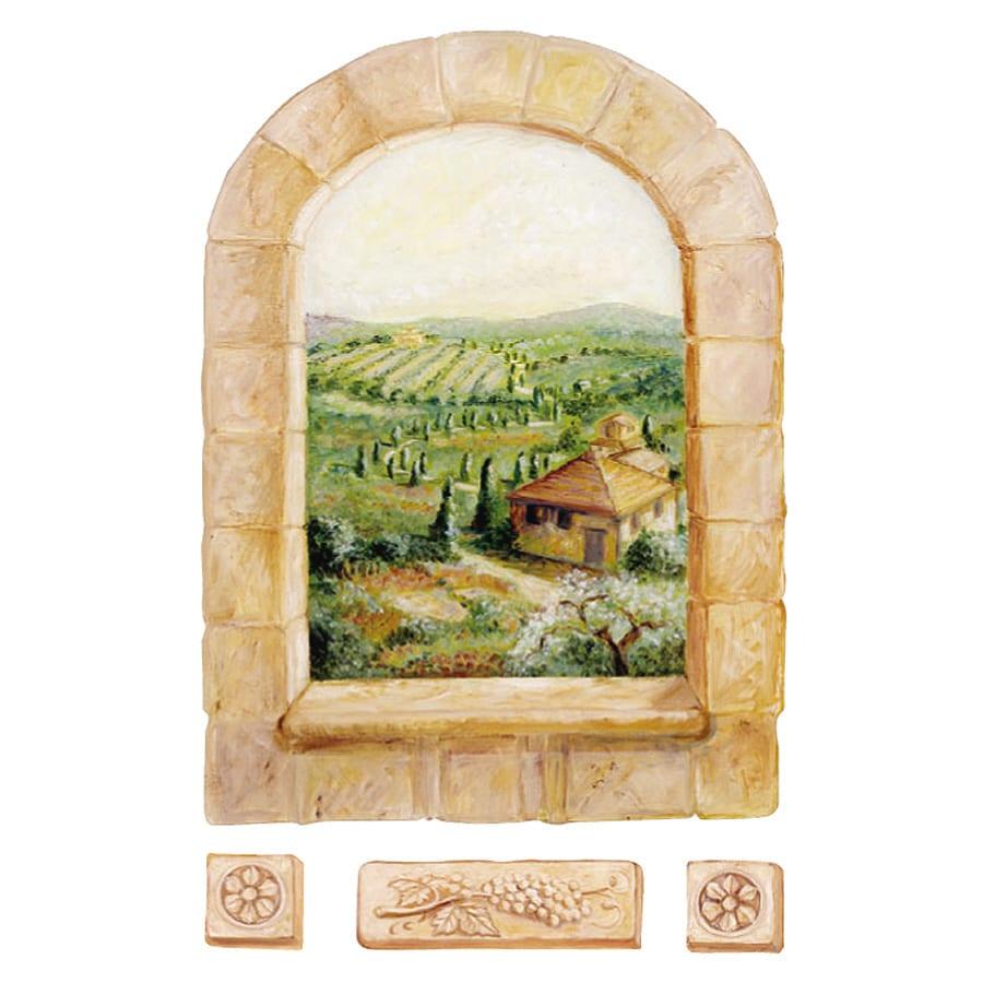 Wallies Tuscan Window Mural Wallies