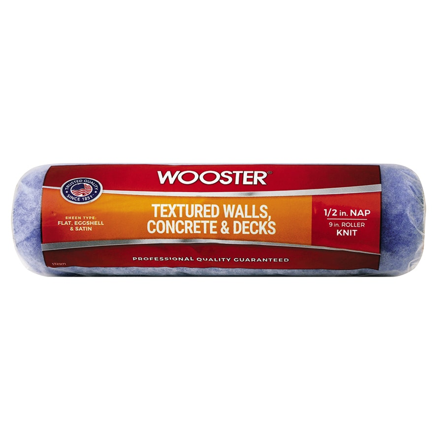 Wooster 9-in Synthetic Blend Paint Roller Cover