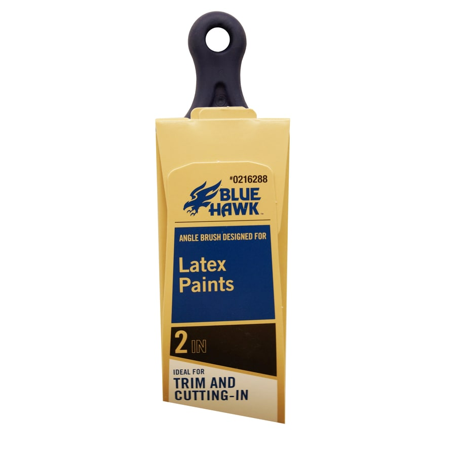 Shop Blue Hawk Polyester Angle 2 In Paint Brush At Lowes Com