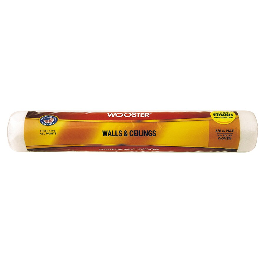 Wooster 14-in Standard Synthetic Blend Paint Roller Cover