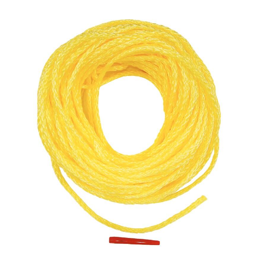 Lehigh 3/8-in x 100-ft yellow Braided Polypropylene Rope