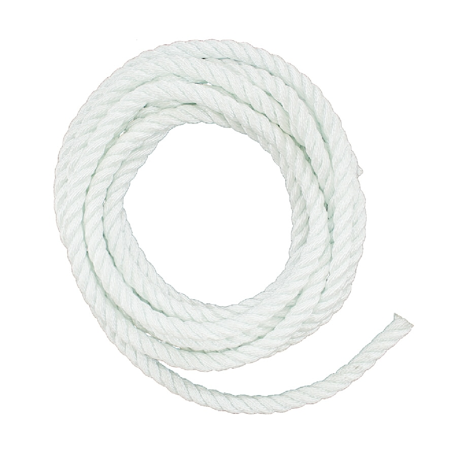 Lehigh 1/2-in x 50-ft Twisted Nylon Rope (By-The-Roll)