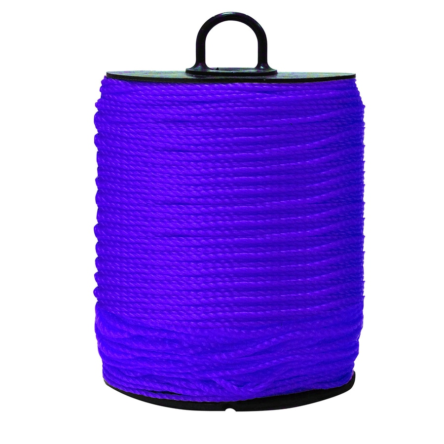 Blue Hawk 0.156-in x 38-ft Twisted Polypropylene Rope