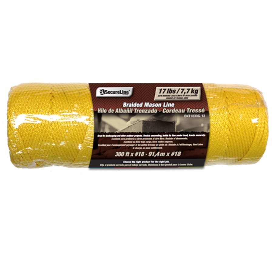 Lehigh 1/16-in x 300-ft Braided Nylon Rope