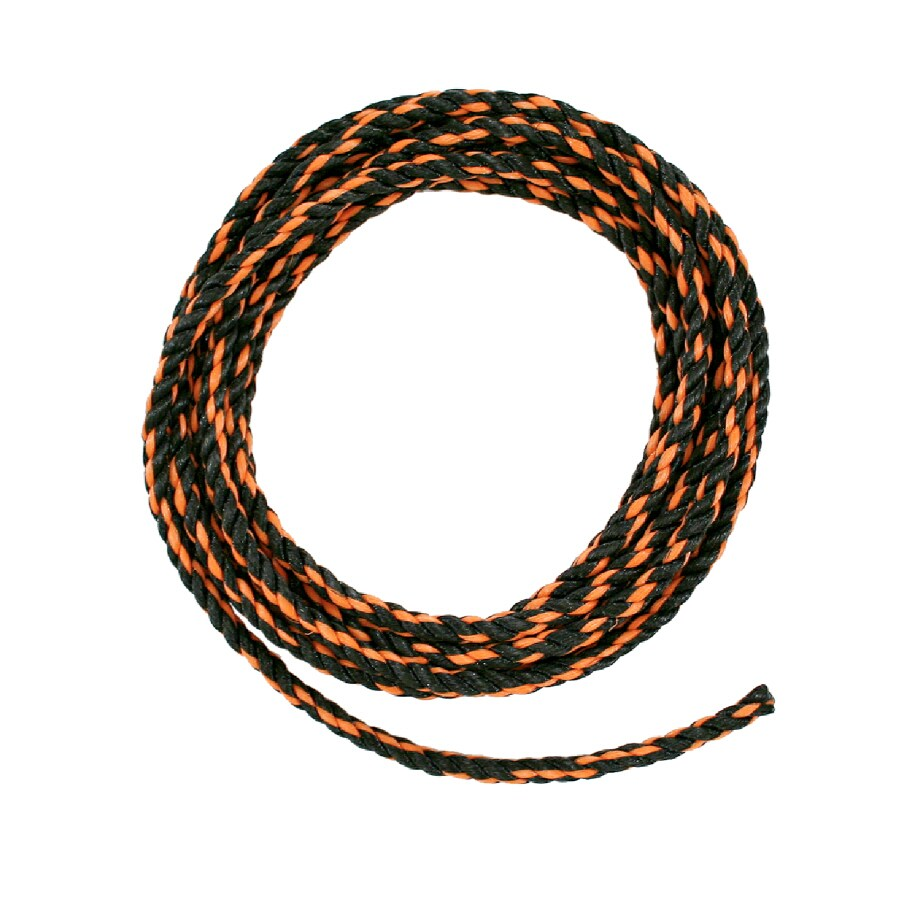 Lehigh 1/2-in x 100-ft Twisted Polypropylene Rope (By-The-Roll)