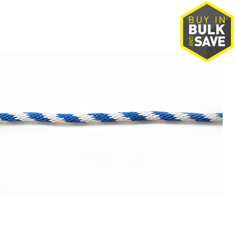 Blue Hawk 5/8-in Braided Polypropylene Rope (By-The-Foot)