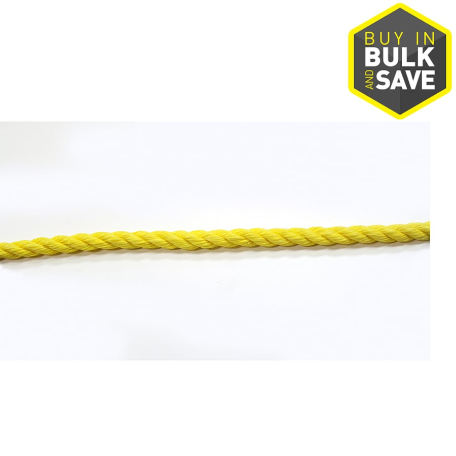 Blue Hawk 3/4-in Twisted Polypropylene Rope (By-The-Foot)