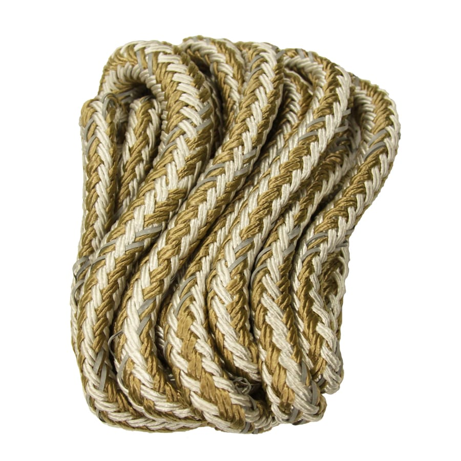 0.5-in x 20-ft Braided Nylon Rope