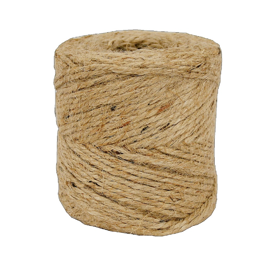 Shop Lehigh 1 16 In X 190 Ft Natural Twisted Jute Rope At