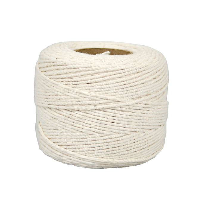 Lehigh 5 32 In X 420 Ft White Twisted Cotton Rope In The Packaged Rope Department At Lowes Com