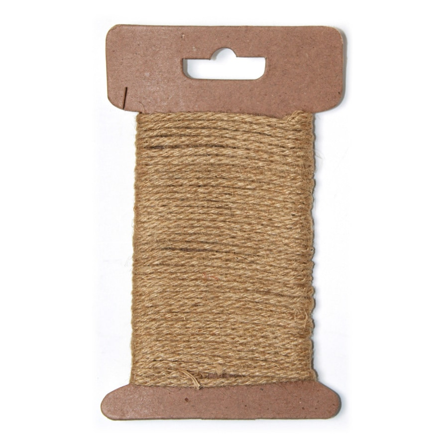 0.312-in x 16-ft Twisted Jute Rope