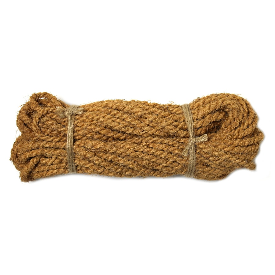 0.187-in x 50-ft Twisted Coconut Husk Rope