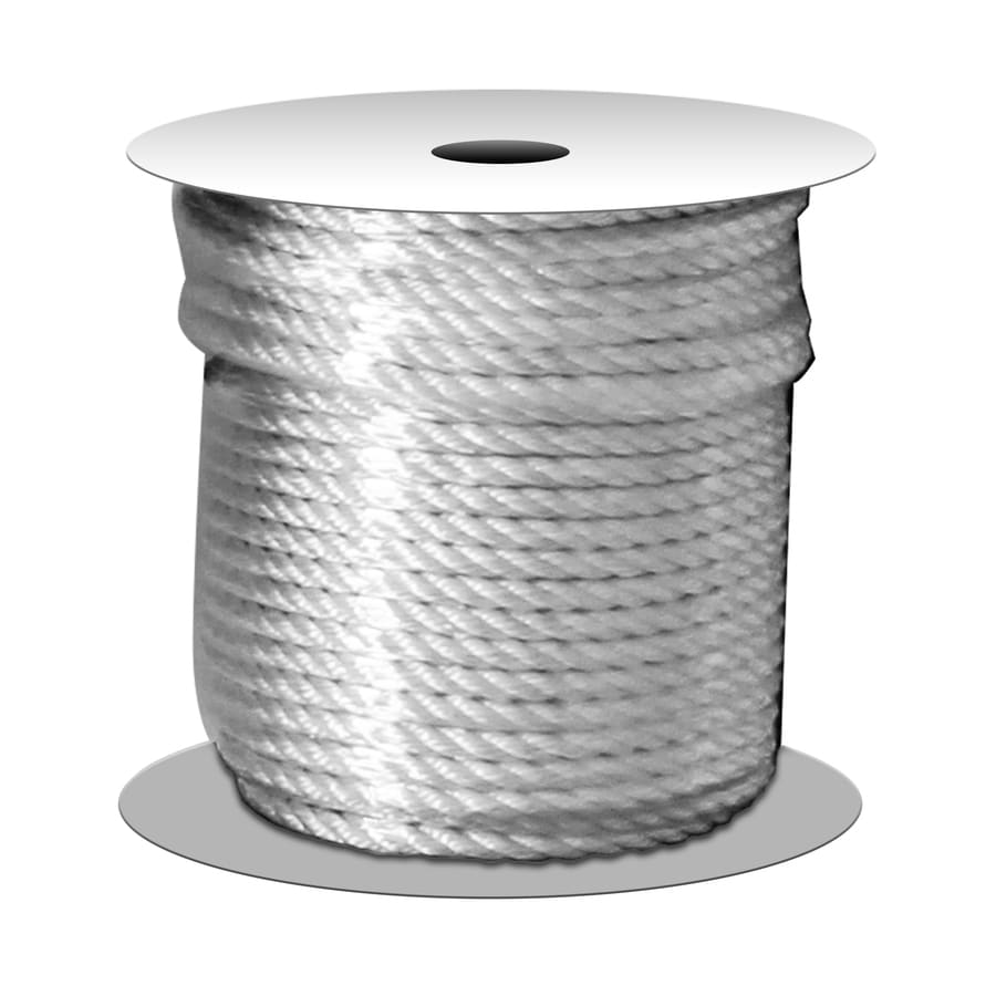 Shakespeare 0.375-in x 100-ft Twisted Nylon Rope