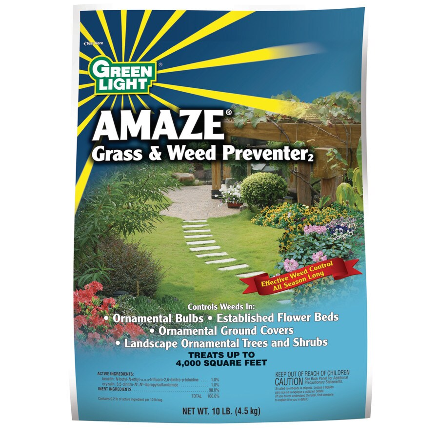 Green Light Amaze 10-lb Grass and Weed Preventer