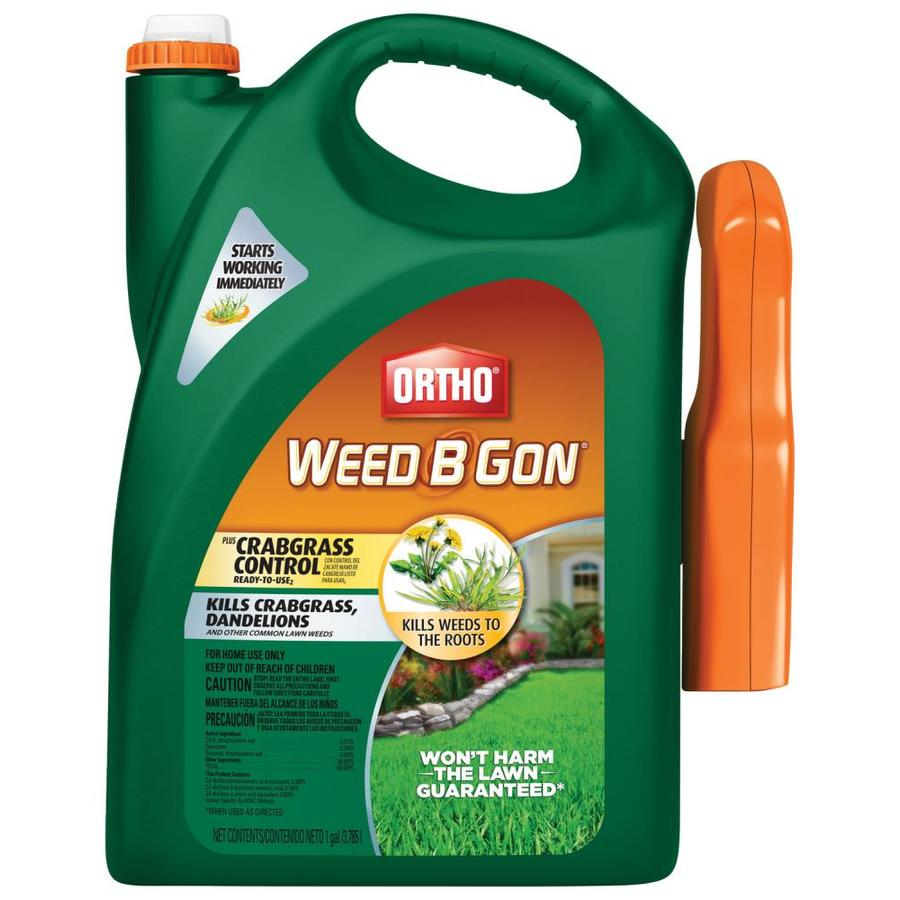 ORTHO Weed B Gon 1-Gallon Weed Killer Plus Crabgrass Control