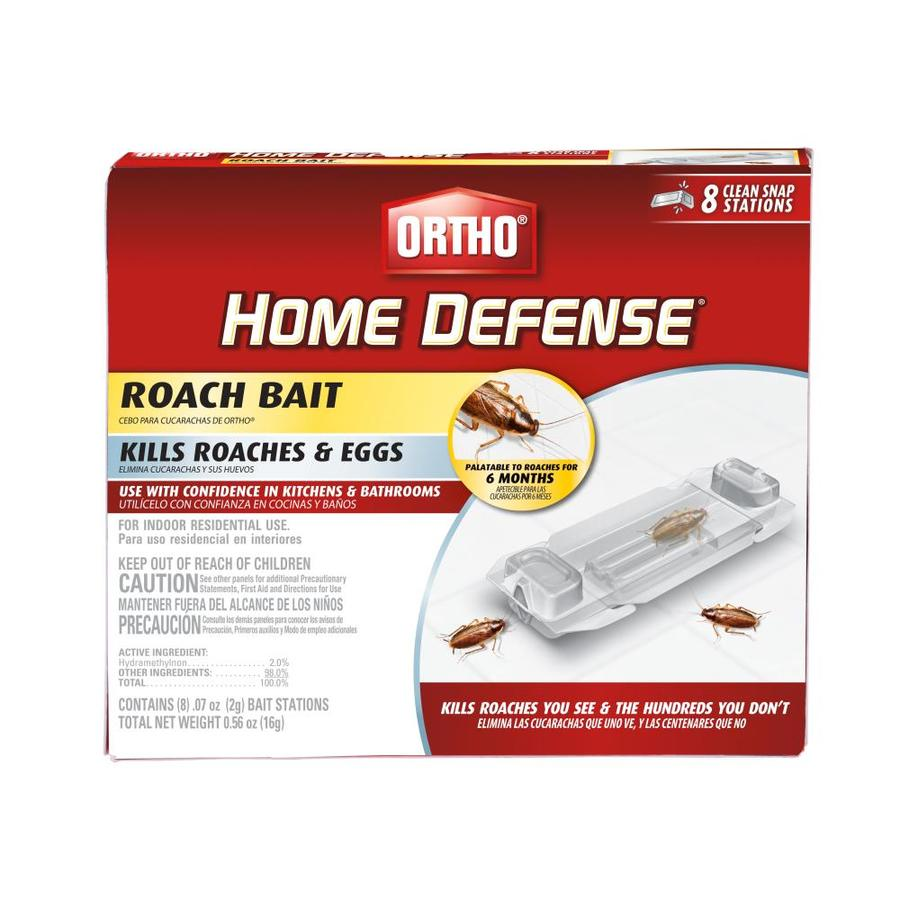 Shop Ortho Home Defense 8 Count Roach Bait Station At Lowes