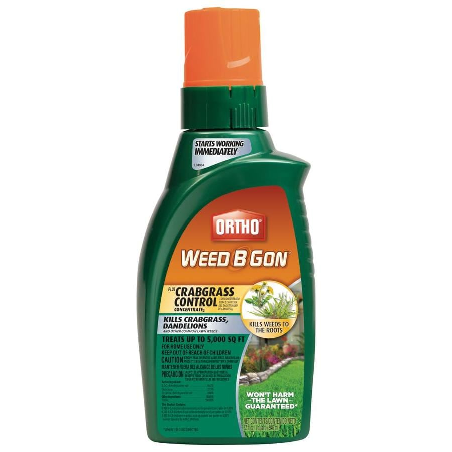 Shop ortho weed b gon 32 oz weed killer plus crabgrass control at