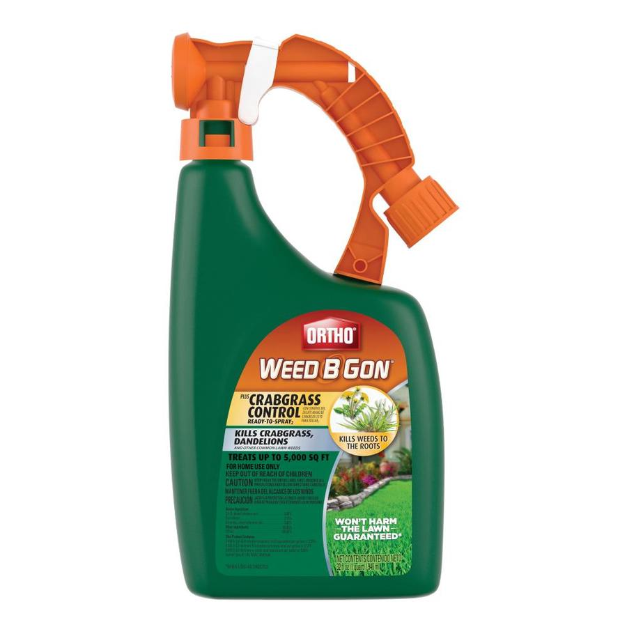 Best Lawn Fertilizer >> Shop ORTHO Weed B Gon 32-oz Weed Killer Plus Crabgrass ...