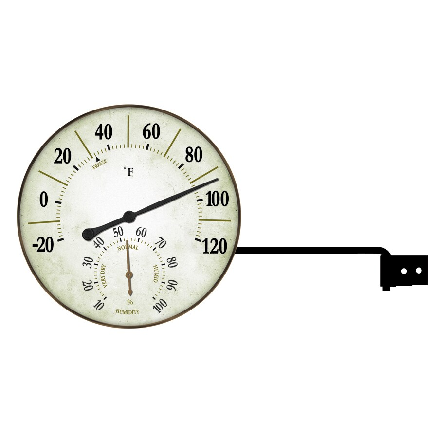 Garden Treasures Thermometer and Hygrometer
