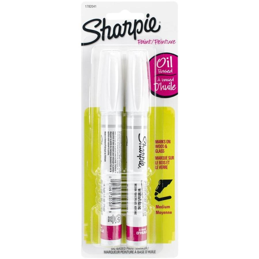 shop sharpie white medium point oil based paint markers at