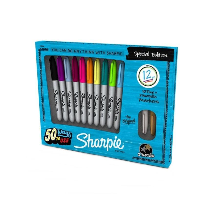 Sharpie 12-Piece Permanent Marker Set