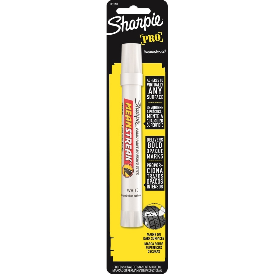 Sharpie Mean Streak White Permanent Marking Stick