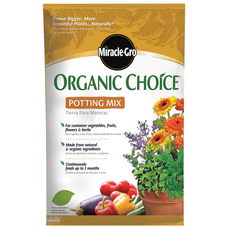 Miracle-Gro Organic Choice 32-Quart Organic Potting Mix
