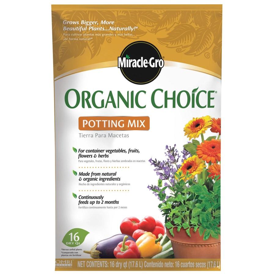 Miracle-Gro 16-Quart Organic Potting Mix