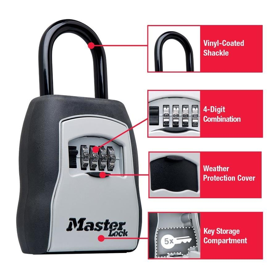 Master Lock Combination Lock Safe