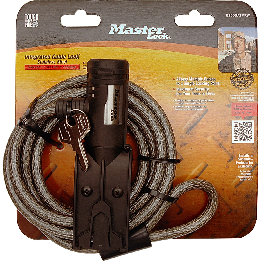 Master Lock Integrated Cable Lock