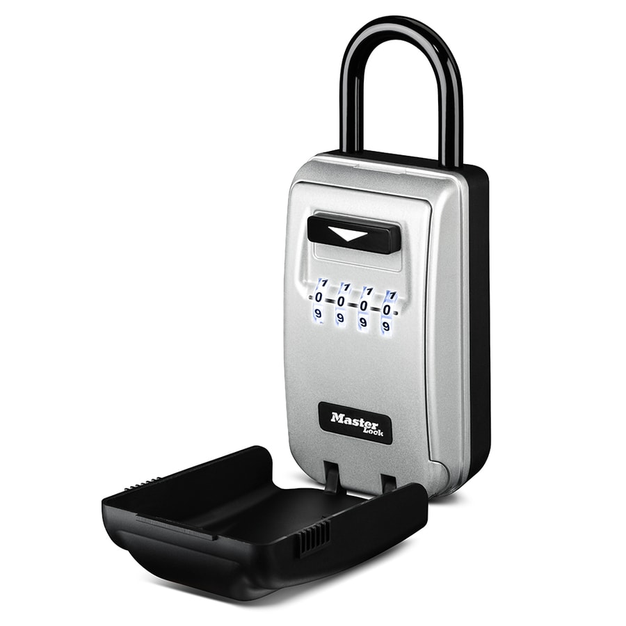 Master Lock Combination Lock Lighted Keypad Safe