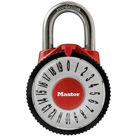 Master Lock 2.125-in Steel Combination Padlock