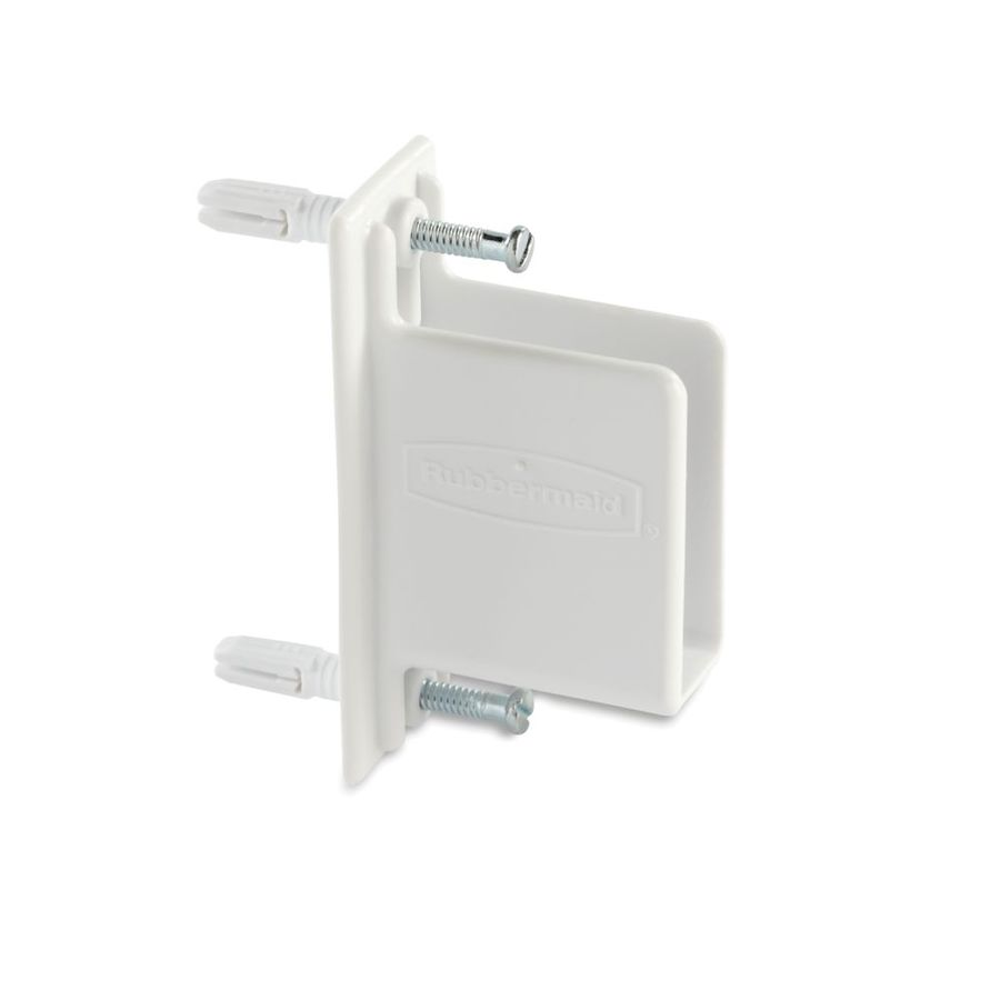Shop Rubbermaid 25-Piece Fixed Mount Wall End Bracket at Lowes.com
