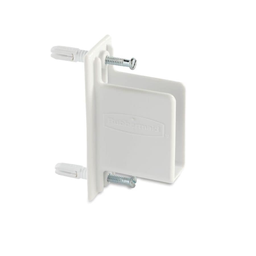 Rubbermaid Fixed Mount Wall End Bracket