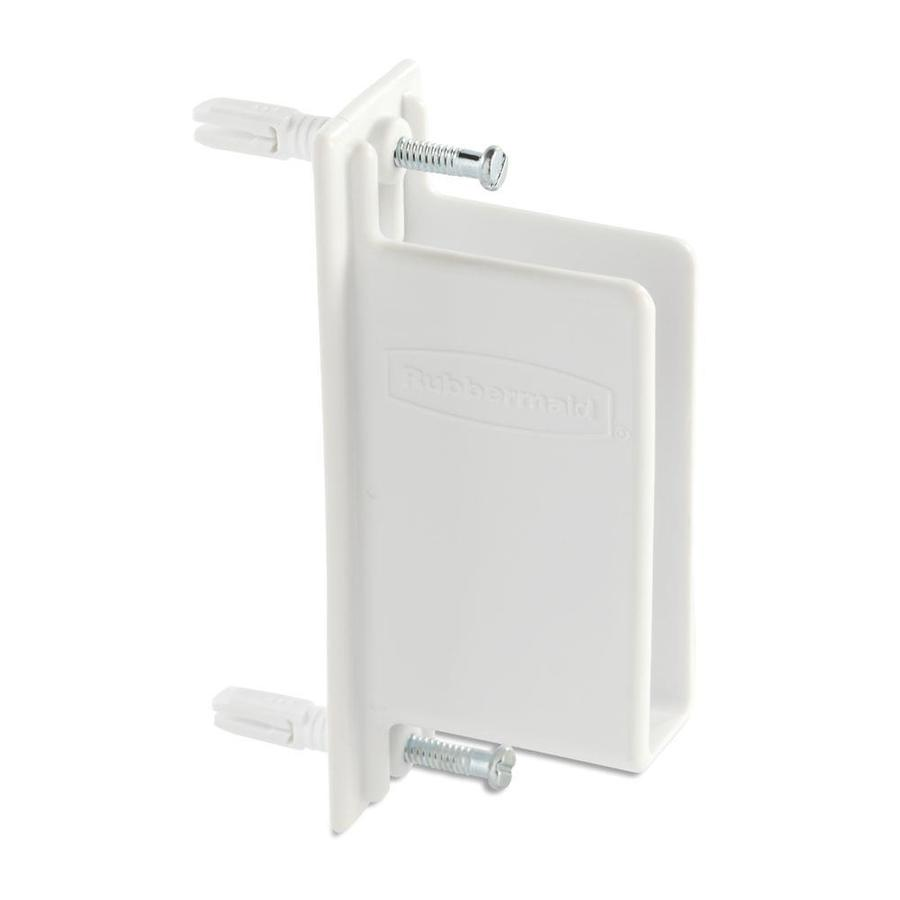 Rubbermaid FreeSlide Fixed Mount Wall End Bracket - Shop Wire Shelving Hardware At Lowes.com